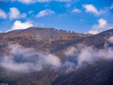 Wolken in Malcine