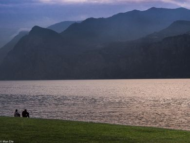 Abend am Gardasee