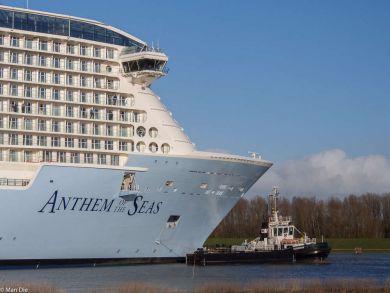 Emsüberführung Anthem of the Seas