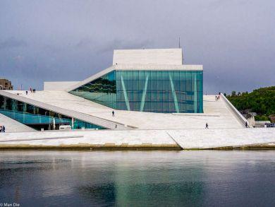 Oslo Norwegen Oper
