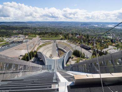 Oslo Norwegen, Holmenkollen