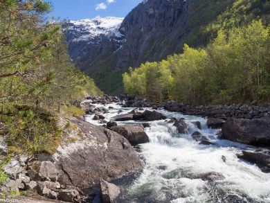 Norwegen Hardangerfjord
