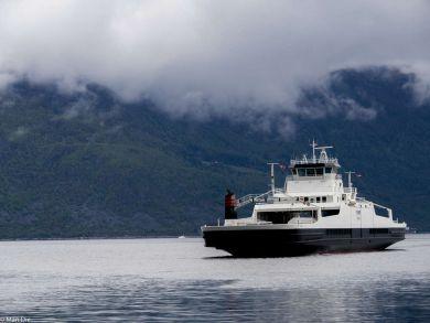 Schlechtes Wetter in Norwegen