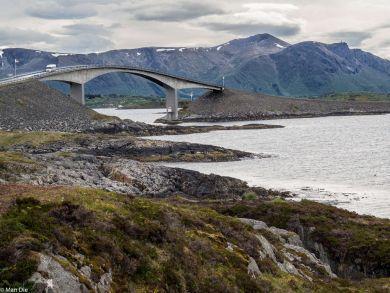 Atlantikstraße in Norwegen