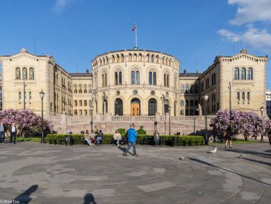 Oslo in der Innenstadt