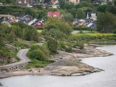 Ausfahrt aus Göteborg