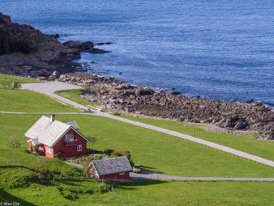 Runde Norwegen, Weg ins Gebirge