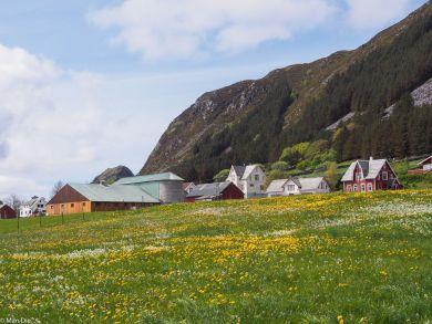Runde Norwegen, Ort