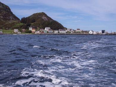 Runde Norwegen, Boot zum Vogelfelsen