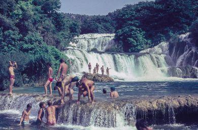 Die Krka-Wasserfälle 1975