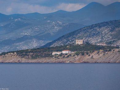 Kroatien an der Küstenstrasse