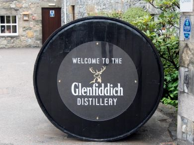 Brennereibesuch Glenfiddich Schottland