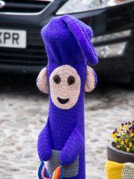England Thirsk bekannte Fernsehhelden aus Wolle
