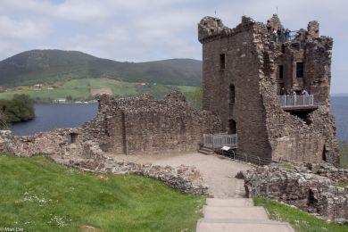 Urquart Castle am Loch Ness