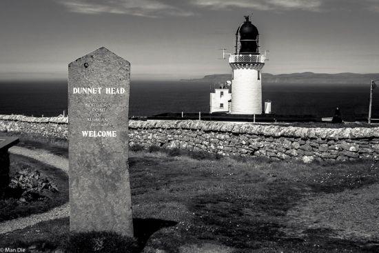 Das Nordende von Schottland, Dunnet Head