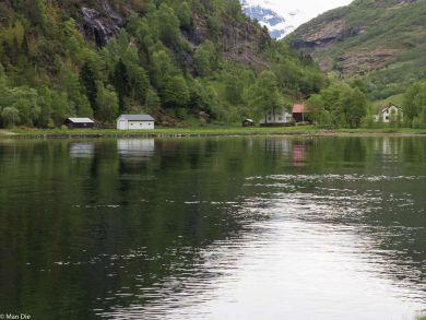 Hellesylt am Campingplatz