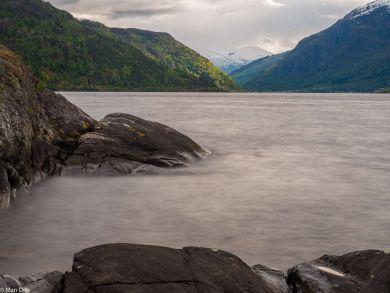 In der Nähe von Sogndalen am Fjord