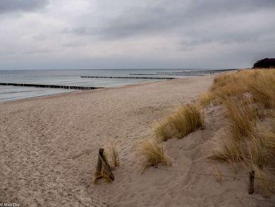 Zingst Strand im Winter