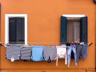 Burano Wäsche trocknen