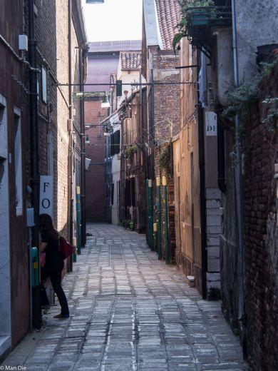 Gasse in Murano