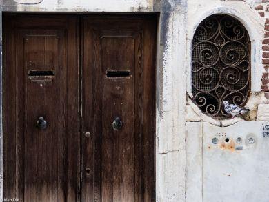 Venedig, alte Haustür