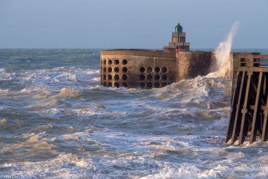 Sturm in Dieppe