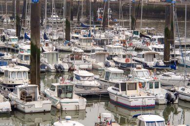 Dieppe, der Hafen