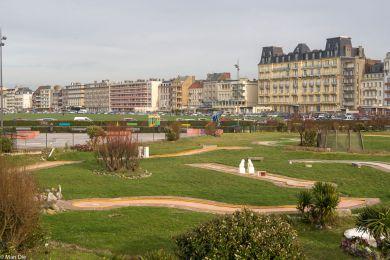 Seafront von Dieppe