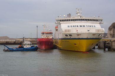 Fähre Seven Sisters in Dieppe