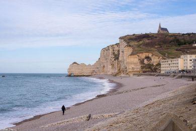 Strand von Etretat