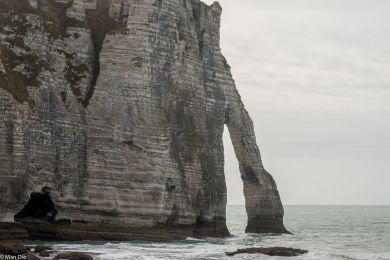 Kreideküste bei Etretat