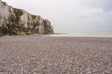 Strand von Le treport