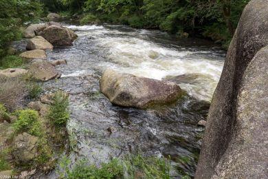 Okertal im Harz, Fluss mit Wildwasser