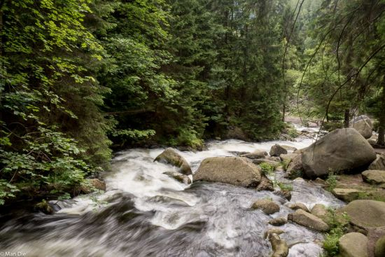 Wildwasser im Okertal (Harz)