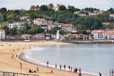 Strandpromenade St. Jean de Luz