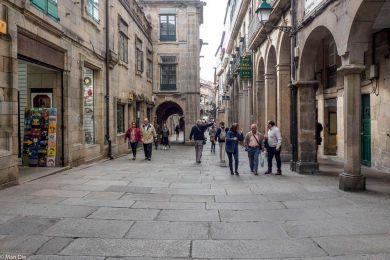 Santiago de Compostela in der Altstadt