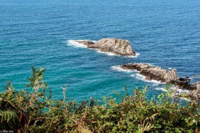 Küste bei Zarautz